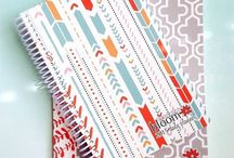 Planning addiction / I have become obsessed on planners and accessorize process. Washi tape, flags, post its, you name it. I want it all.