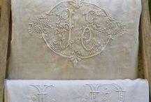 Trésor de Pays fabric linens / Landelijke juweeltjes van linnen en katoen