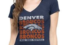 2015 Women NFL Gear / Don't fret ladies, we didn't forget about you! Just got some new customized football v-necks and blinged out hats in to help you stand out while you stand up to cheer on your team!