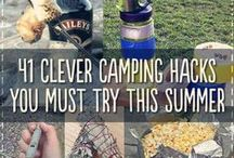 camping tramping cycling hacks