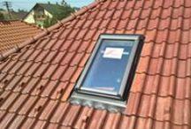 Tetőtéri ablak beépítés lépésről-lépésre / Roto R4-es tetőablak beépítése, vízzáró csatlakozással