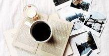 Livros   Books / Inspirações de fotos com livros