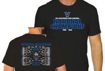 """2016 NCAA Basketball Champions / Congratulations to the Villanova Wildcats on becoming the 2016 College Basketball NCAA March Madness Tournament Champions! Buy your commemorative gear now at Sporting Up! Use code """"NOVAPIN"""" for 10% off!"""