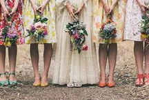 Spring Weddings / Inspiration for spring weddings - locations, floral displays, dresses, details and food.