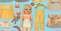 QUEEN HOLDEN PAPER DOLLS / QUEEN HOLDEN es una de las mejores ilustradoras de la historia y dedicó gran parte de su trabajo a soñar con las muñecas recortables, no debió ser sólo un trabajo para ella. Cada muñeca es una obra de arte.