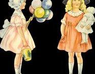 SHEYLA YOUNG PAPER DOLLS / Sheyla Joung, Paper Dolls, Lettie Lane, Ladies home journal