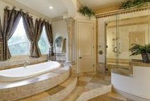 Luxury Bathrooms, Southlake, Texas / Updated to the height of luxury, Southlake master bath retreats boast some of the finest updates and modern spa features found in homes today.