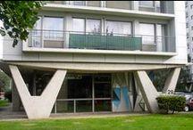 LUIK / LIEGE - MODERNE ARCHITECTUUR  / Moderne architectuur in Luik van eind 1800 tot midden vorige eeuw.