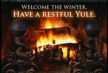 Yule - Winter Solstice. / Seasons Greetings