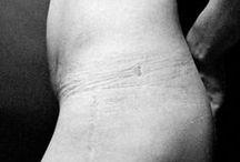 BODY / IMPRINT / traces créées par contact d'un corps sur un autre.
