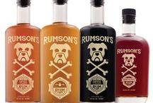 Rumson's Rum Logos