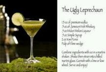 Drinks for our St. Paddy's Day Party. / by Diane Neff