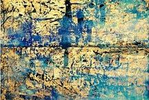Best of abstract painting / Abstract painting with depth and luminosity.