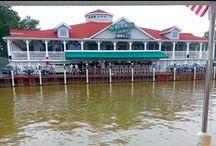 Campus Club Vermillion River Boat / 2014 #Boat Trip in Vermillion, #Ohio