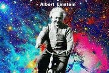 Mr Einstein. / Scientist and Spiritualist.