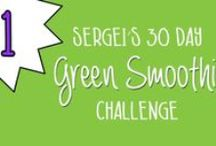 30-Day Green Smoothie Challenge by Sergei Boutenko / This 30-day green smoothie challenge is meant to inspire you to be healthier. I believe that anyone who completes this challenge will feel happier and healthier after a month of regular smoothie consumption. If you'd like to participate, simply start at the beginning of the series (Green Smoothie Challenge Day 1) and continue for 30 days. It's also worth mentioning that these smoothies are meant to supplement your regular diet, not substitute it completely. So don't stop eating solid food.