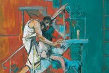 Twentieth century religious painting / Spiritual and religious themes in painting from the twentieth century.