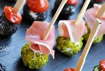 Party food, finger food