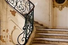 Hallways, stairs