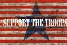 USA / I love the military. Grew up in a military family. I respect and love the men and women of the military more than I can say.