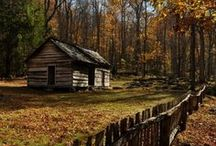 Cottages and Cabins / Out of the way places...