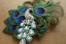 peacock wedding / Gathering  unique peacock items for your wedding :)