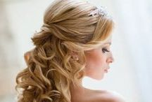 Bridal and flower girls Hairstyles / cute styles