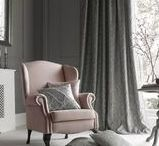 Ashley Wilde | Ashton Collection / Inspired by nature, Ashton combines organic textures with botanical imagery to create this timeless collection. The mottled ground adds depth to these beautiful fabrics, which are further enhanced with an intricate and detailed embroidery.