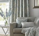 Ashley Wilde | Elstow Collection / Elstow is a distinctly pretty and feminine collection that takes inspiration from traditional botanicals and translates into a supremely elegant and stylised range of fabrics.