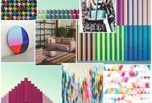 SS18 Trend: Electric / Bold and bright, the Electric trend celebrates vibrant geometrics and bright primary colours.