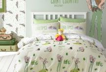 Roald Dahl Bedding / Step into the magical world of Roald Dahl with these delightful bedlinen designs, a welcome addition to any child's bedroom. Quentin Blake's beautiful illustrations of our favourite book characters sit alongside beautifully embroidered cushions and patterned reverses.