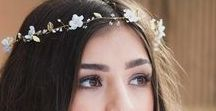 Bridal Beauty / Bridal inspiration for your wedding makeup, hair and accessories