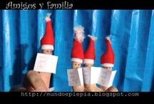 Navidad / Ideas, decoración, reciclaje, canciones, regalos, amistad,.... es Navidad :)
