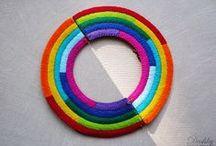 Dushky | accessories / my felt accessories // jewelry ► www.dushkys.blogspot.com