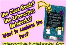 Close Reads- Brainy Apples / Blog posts & resources to help you incorporate Close Reads into your classroom including integration of reading into the content areas.
