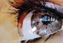 Art / Paintings, drawings, body art
