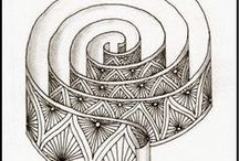 Obsessive Doodling.... / Discovered 'zentangle' and now I'm hooked.