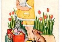 Easter / vintage illustrations / by Ninette L