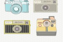 DIGITAL SCRAPBOOKING FREEBIES / Need inspiration for your scrapbook layout or design? Grab some freebies!