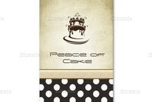 Business cards - Peace of cake / Business cards