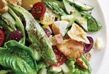 Salads / by Joanna LaGravenese