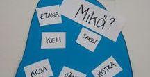 sanaluokat / nominit, substantiivi, adjektiivi, pronomini, numeraali, verbi, partikkeli