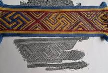 Early Tablet Weaving  / Originals and reconstructions of surviving tablet weaving patterns from before 1300 CE. / by Cathy Raymond