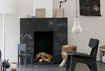 INTERIOR | fireplace