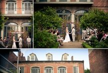 NOLA Wedding / The Hermann-Grima House Courtyard is a beautiful setting for a NOLA wedding. Here are some of our favorite wedding ideas!