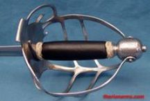 Basket Hilted Swords / by Cathy Raymond
