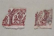 Early Embroidery / Examples of embroidered textiles done before 1400 CE. / by Cathy Raymond