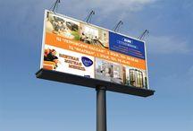 Outdoor advertising   Наружняя реклама / Разработка рекламных материалов для наружной рекламы