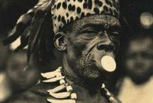 African Body Modification / Scarification - Piercing - Stretching - Filing - Deforming - Mutilation