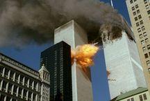 9/11/2001 / Bilder eines terroristischen Anschlags  / by Burghard Höhn